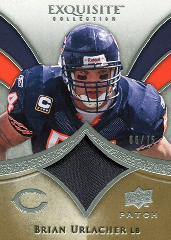 2009-Exquisite-Collection-Patch-Brian-Urlacher-Upper-Deck