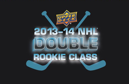 2013-14-Upper-Deck-NHL-Double-Rookie-Class-Black-Logo