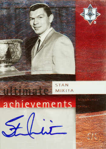 Chicago-Blackhawks-Legends-07-08-Ultimate-Collection-Autograph-Achievements-Stan-Mikita-Card