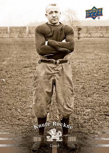 2013-Upper-Deck-Notre-Dame-Football-Knute-Rockne
