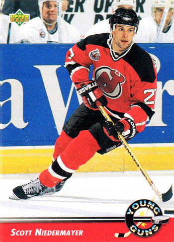 2013-Hockey-Hall-of-Fame-Inductees-Scott-Niedermayer-Young-Guns-Rookie-Card