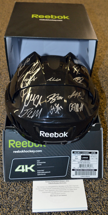 2013-National-Sports-Collectors-Convention-Diamond-Club-Event-Autograph-2012-Rookie-Showcase-Helmet