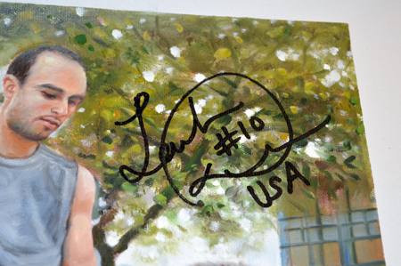 2013-National-Sports-Collectors-Convention-Diamond-Club-Event-Landon-Donovan-Goodwin-Champions-Art-Close-Up-Auto
