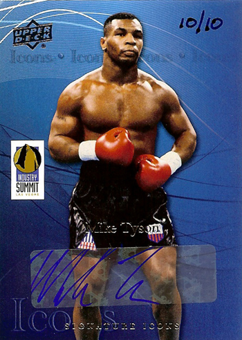 2013-National-Sports-Collectors-Convention-Diamond-Club-Event-Mike-Tyson-Autograph