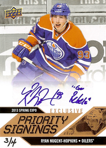 2013-National-Sports-Collectors-Convention-Diamond-Club-Event-Ryan-Nugent-Hopkins-Autograph