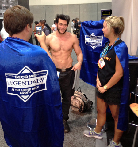 Comic-Con-San-Diego-Upper-Deck-Best-Worst-Dressed-2013-Logan-Wolverine