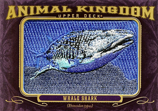 Sharknado-2012-Goodwin-Champions-Animal-Kingdom-Patch-Cards-Whale-Shark
