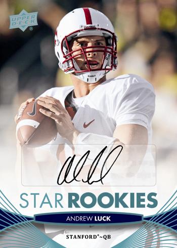 Trade-Card-Andrew-Luck-2012-Upper-Deck-Football-Star-Rookie-Autograph