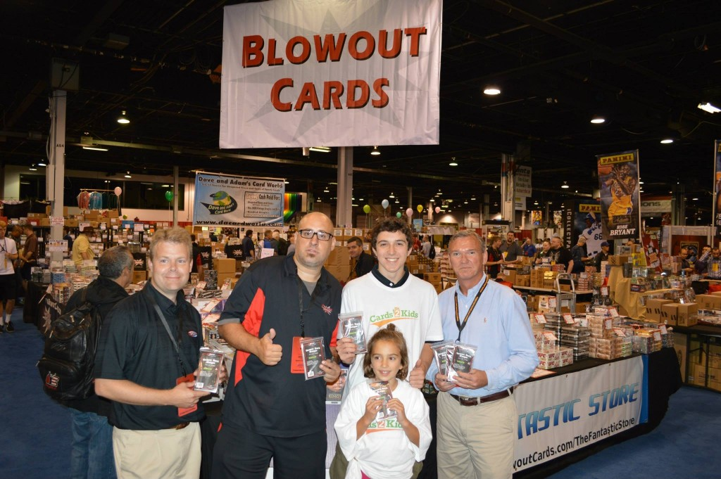 2013-National-Sports-Collectors-Convention-Cards2Kids-John-Makowiec-Founder-BCW-Supplies-Tom-Fish-Blowout-Cards