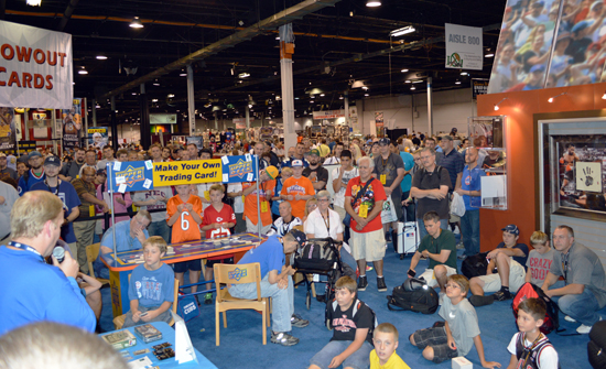 2013-National-Sports-Collectors-Convention-Daily-Raffle-Huge-Crowd