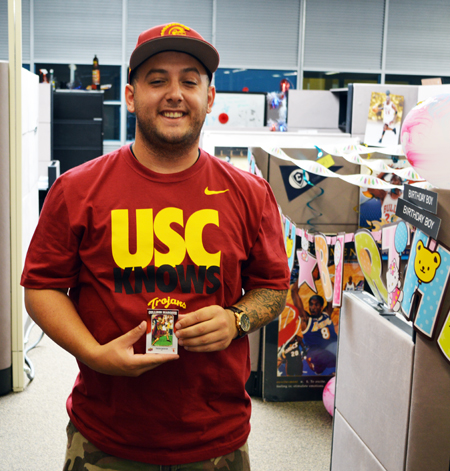 2013-Upper-Deck-CLC-College-Colors-Day-Celebration-Chris-Jamie-Athlete-Relations-USC