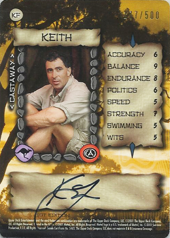 Collecting-Survivor-Season-Two-Austalian-Outback-Keith-Faime