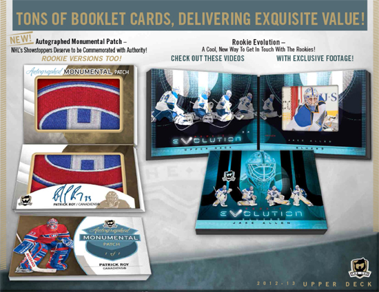 2012-13-NHL-The-Cup-Solicitation-4-Booklet-Cards-Evolution-Video