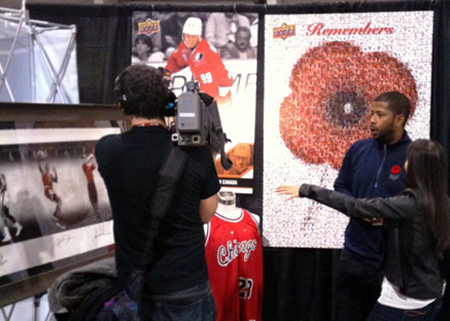 2013-NHL-Fall-Expo-Upper-Deck-Authenticated-Jordan-Tiger-Woods-Ali-Ryan-King-Reporter