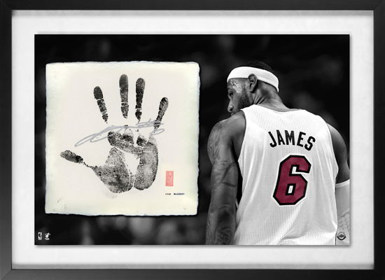 LeBron-James-Autographed-Tegata-Piece-Upper-Deck-Authenticated