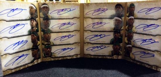2012-13-Exquiste-Basketball-Sixteen-Signatures-LeBron-James