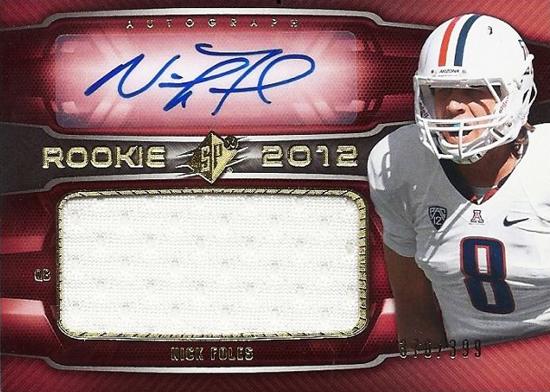 2012-SPx-Autograph-Jersey-Rookie-Nick-Foles