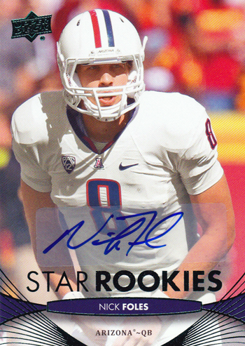 2012-Upper-Deck-Autograph-Star-Rookie-Nick-Foles