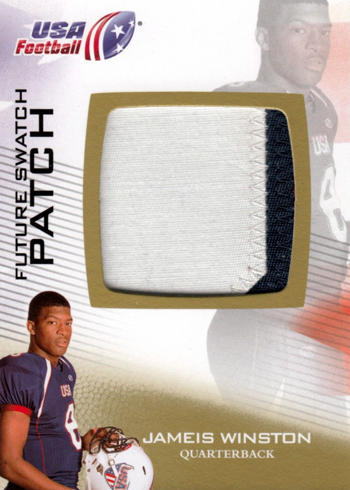 2012-Upper-Deck-USA-Football-Jameis-Winston-Game-Worn-Patch-Card-XRC