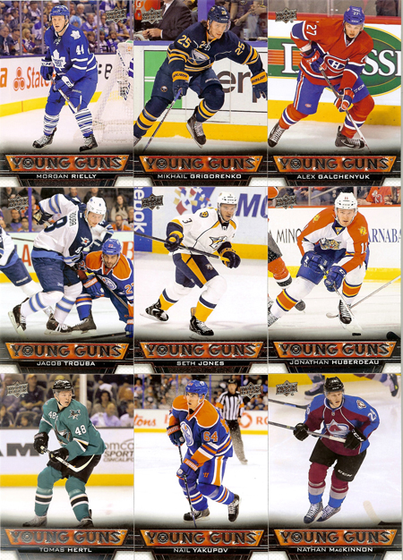 2013-14-NHL-Upper-Deck-Series-One-Young-Guns