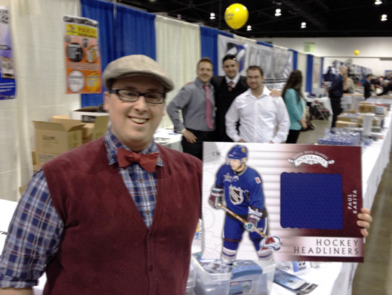 UD-Surprises-Hockey-Card-Fans-Sports-Card-Memorabilia-Expo-Cloutsnchara-Jonathan-Caron-Paul-Karilya-Super-Collector