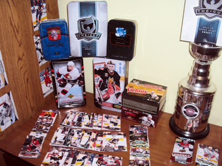 Upper-Deck-Your-Halls-Redecorate-Home-Office-Sports-Trading-Cards-Hockey-NHL-Sandanam-3