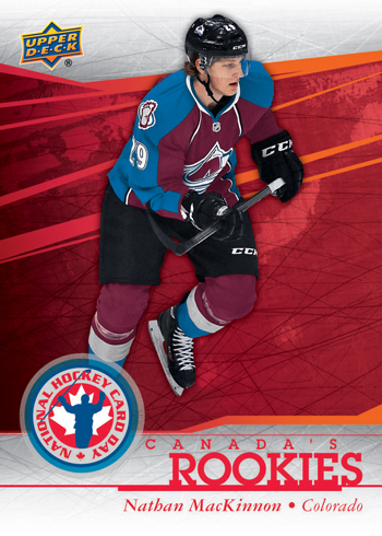 2014-Upper-Deck-National-Hockey-Card-Day-Canada-Rookies-Nathan-MacKinnon