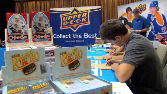 NHL-Network-Making-of-Upper-Deck-Hockey-Cards-Players-Autograph