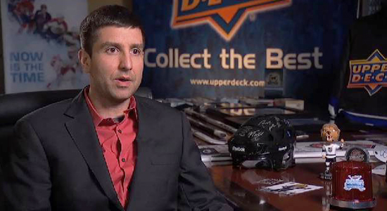 NHL-Network-Making-of-Upper-Deck-Hockey-Cards-President-Jasoh-Masherah