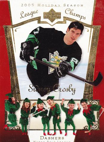 Santa-Card-2005-Holiday-Season-Sidney-Crosby-Elves