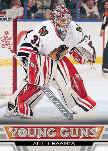 2013-14-NHL-Upper-Deck-Series-Two-Young-Guns-Antti-Raanta