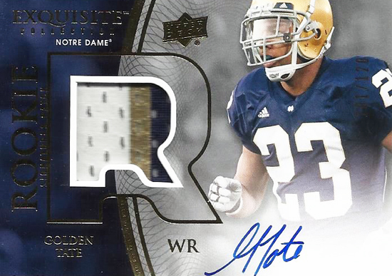 Seattle-Seahawks-2010-Exquisite-Collection-Autograph-Rookie-Patch-Golden-Tate