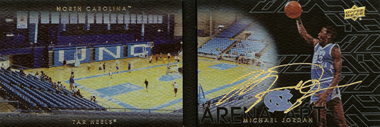 2013-14-Upper-Deck-Black-Basketball-UNC-Booklet-Signatures-Michael-Jordan