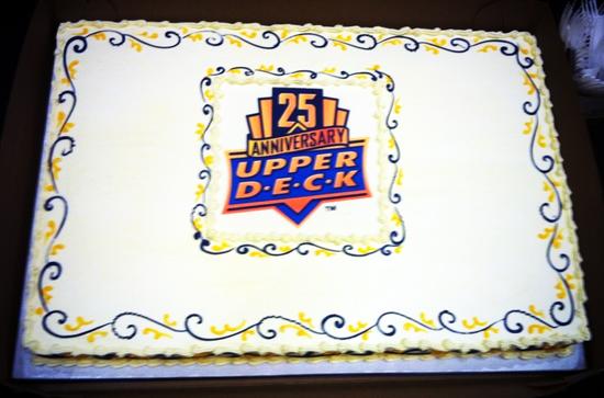 2014-Las-Vegas-Industry-Summit-Upper-Deck-Anniversary-Cake