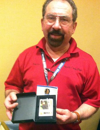 2014-Las-Vegas-Industry-Summit-Upper-Deck-Happy-Shop-Tiger-Woods-Autograph