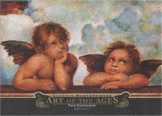 2014-Upper-Deck-Goodwin-Champions-Art-of-the-Ages-Raphael-Two-Cherubini
