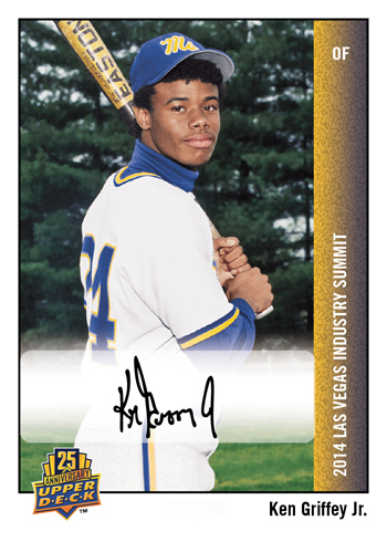 2014-Upper-Deck-Las-Vegas-Industry-Summit-25th-Anniversary-Autograph-Ken-Griffey-Jr