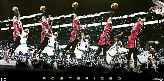 Las-Vegas-Industry-Summit-Instant-Redemption-LeBron-James-Posterized