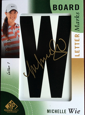 2013-SP-Game-Used-Golf-Leaderboard-Lettermarks-Michelle-Wie-Autograph-W