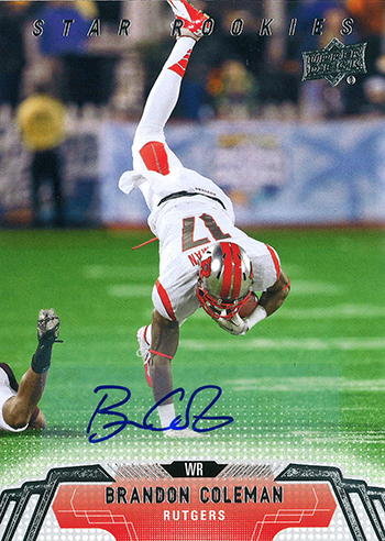 Live-Image-2014-Upper-Deck-Football-Star-Rookie-Autograph-Brandon-Coleman