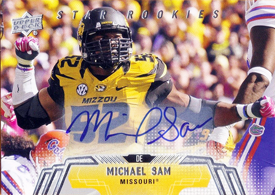 Live-Image-2014-Upper-Deck-Football-Star-Rookie-Autograph-Michael-Sam