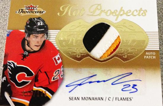 Upper-Deck-2013-14-NHL-Fleer-Showcase-Autograph-Rookie-Patch-Card-Sean-Monahan-010