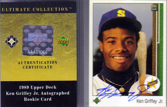 Upper-Deck-Ken-Griffey-Jr-Super-Collector-Michael-Doffing-Magicpapa-1989-Buyback-Rookie