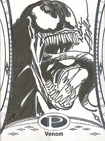 2014-Marvel-Premier-Upper-Deck-Neal-Adams-Venom-Sketch-Card