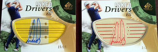 2014-SP-Game-Used-Golf-Inked-Drivers-Ernie-Els-2-Levels-Rarity
