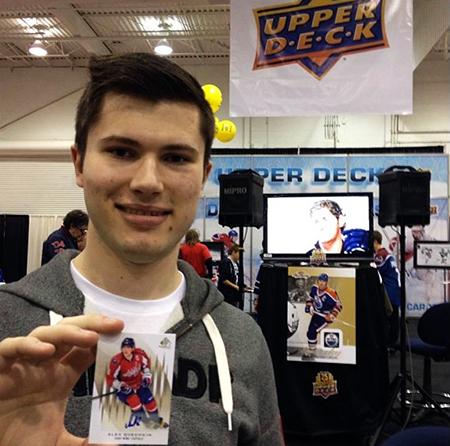 Spring-Expo-Toronto-Sport-Card-Memorabilia-Upper-Deck-Alex-Ovechkin-Pull