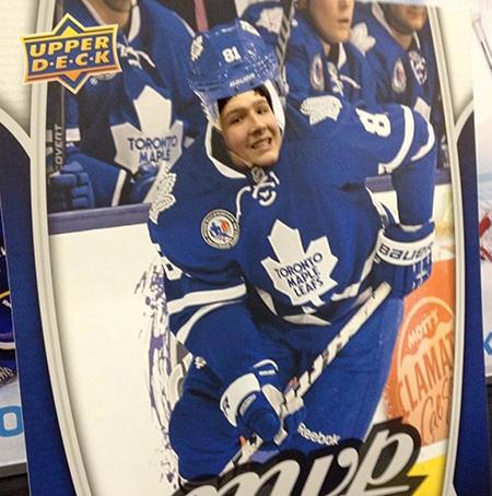 Spring-Expo-Toronto-Sport-Card-Memorabilia-Upper-Deck-Phil-Kessel-Blow-Up-Photo-Opp
