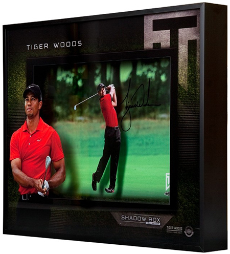 Upper-Deck-Authenticated-Collectible-Signed-Shadow-Box-Tiger-Woods-Side-3-D