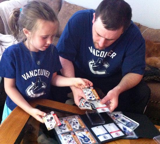Upper Deck Encourages Hockey Fans to Visit Walmart in Vancouver this Father's Day!