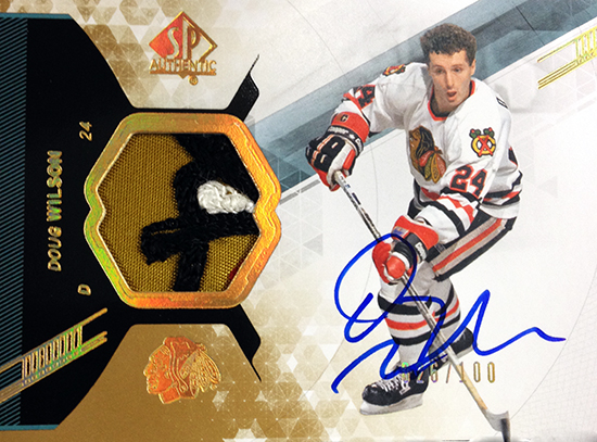 2013-14-NHL-SP-Authentic-Autographed-Patch-Card-Doug-Wilson